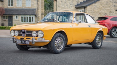 RESERVE LOWERED - 1970 Alfa Romeo 1750 GTV