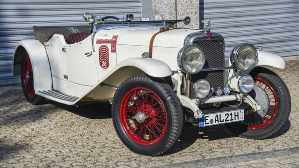 1933 Alvis Firefly SA 11.9 Cross & Ellis 4-seat open tourer For Sale (picture 8 of 132)