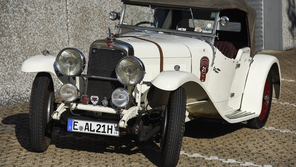 1933 Alvis Firefly SA 11.9 Cross & Ellis 4-seat open tourer For Sale (picture 1 of 132)
