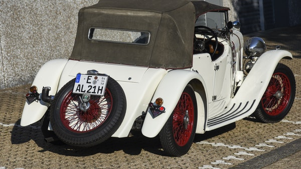 1933 Alvis Firefly SA 11.9 Cross & Ellis 4-seat open tourer For Sale (picture 24 of 132)