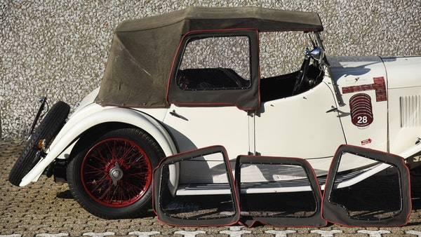 1933 Alvis Firefly SA 11.9 Cross & Ellis 4-seat open tourer For Sale (picture 90 of 132)