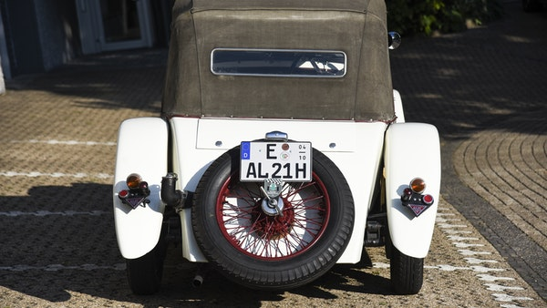 1933 Alvis Firefly SA 11.9 Cross & Ellis 4-seat open tourer For Sale (picture 26 of 132)