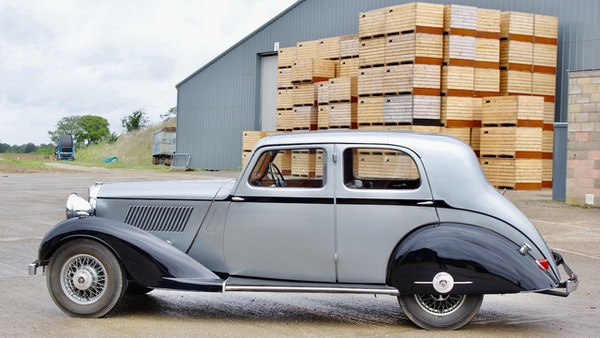 1936 Alvis Silver Crest 20/92 For Sale (picture 12 of 113)