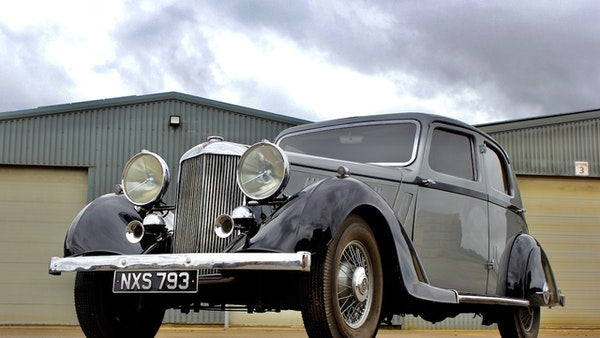 1936 Alvis Silver Crest 20/92 For Sale (picture 19 of 113)
