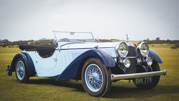 NO RESERVE! 1936 Alvis Speed 20 SD For Sale (picture 3 of 140)