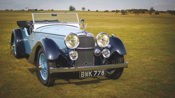 NO RESERVE! 1936 Alvis Speed 20 SD For Sale (picture 5 of 140)