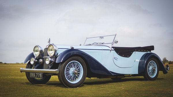 NO RESERVE! 1936 Alvis Speed 20 SD For Sale (picture 4 of 140)