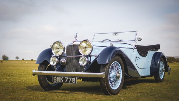 NO RESERVE! 1936 Alvis Speed 20 SD For Sale (picture 1 of 140)