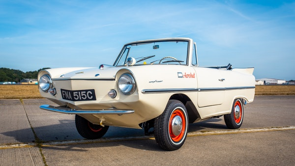 1965 Amphicar Model 770 For Sale (picture 22 of 131)