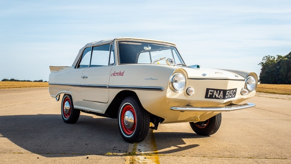1965 Amphicar Model 770 For Sale (picture 8 of 131)