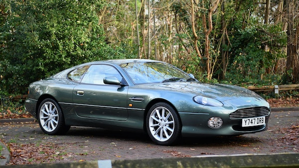 2001 Aston Martin DB7 Vantage For Sale (picture 1 of 105)