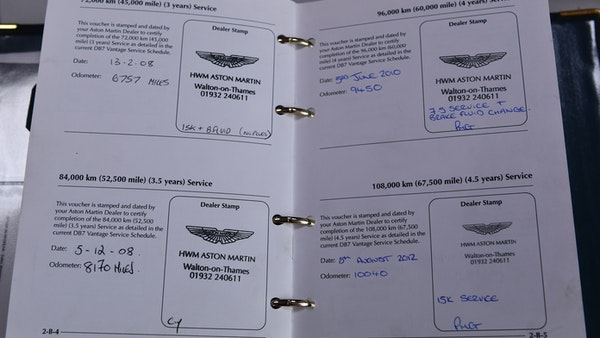 2001 Aston Martin DB7 Vantage For Sale (picture 87 of 105)