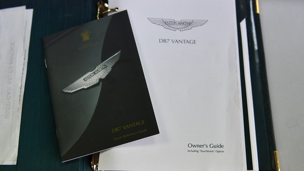2001 Aston Martin DB7 Vantage For Sale (picture 83 of 105)