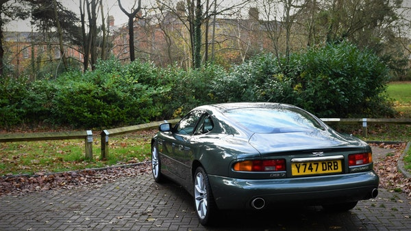 2001 Aston Martin DB7 Vantage For Sale (picture 10 of 105)