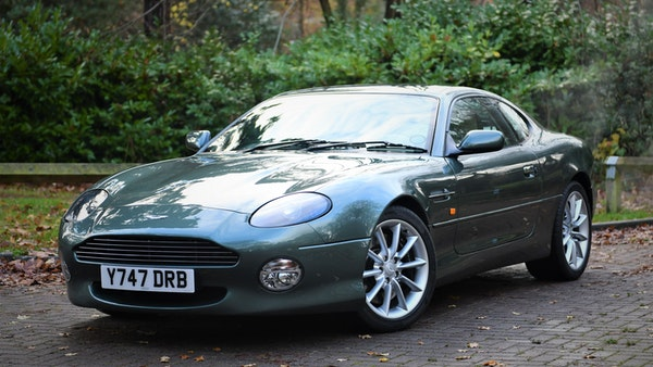 2001 Aston Martin DB7 Vantage For Sale (picture 9 of 105)