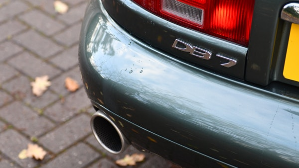 2001 Aston Martin DB7 Vantage For Sale (picture 46 of 105)