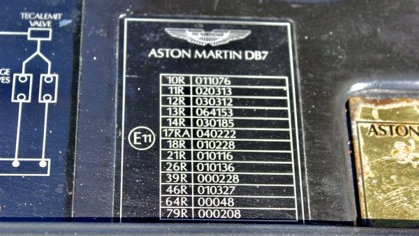 1995 Aston Martin DB7 For Sale (picture 79 of 107)