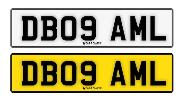 Private Reg Plate - DB09 AML For Sale (picture 1 of 3)