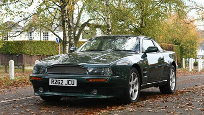 1997 Aston Martin V8 Coupe