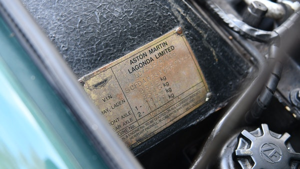 RESERVE REMOVED! - 1997 Aston Martin V8 Coupe For Sale (picture 64 of 95)