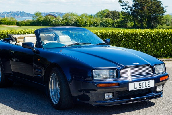 1995 Aston Martin Virage 5.3 V8 Volante - RESERVE LOWERED For Sale (picture 48 of 110)