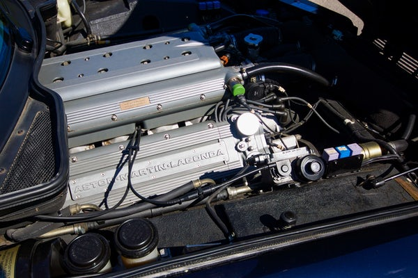 1995 Aston Martin Virage 5.3 V8 Volante - RESERVE LOWERED For Sale (picture 80 of 110)