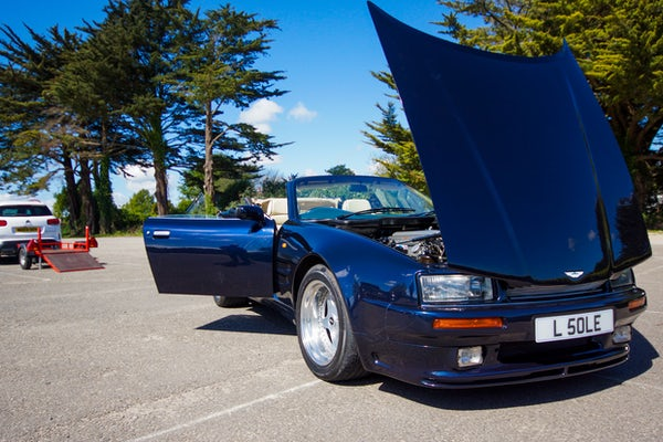 1995 Aston Martin Virage 5.3 V8 Volante - RESERVE LOWERED For Sale (picture 31 of 110)