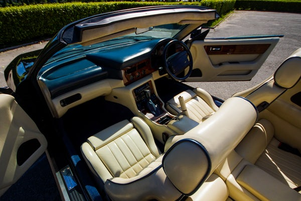 1995 Aston Martin Virage 5.3 V8 Volante - RESERVE LOWERED For Sale (picture 71 of 110)