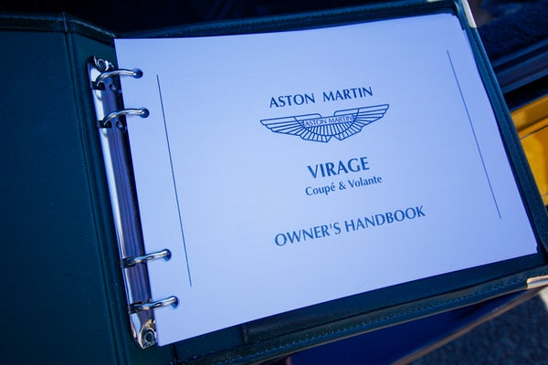 1995 Aston Martin Virage 5.3 V8 Volante - RESERVE LOWERED For Sale (picture 86 of 110)