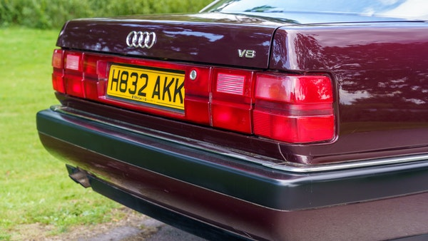 RESERVE LOWERED -1990 Audi V8 Quattro For Sale (picture 88 of 130)