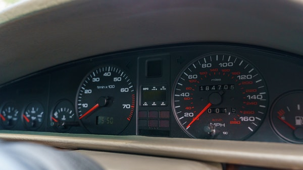 RESERVE LOWERED -1990 Audi V8 Quattro For Sale (picture 31 of 130)