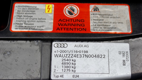 2006 Audi S8 For Sale (picture 129 of 224)