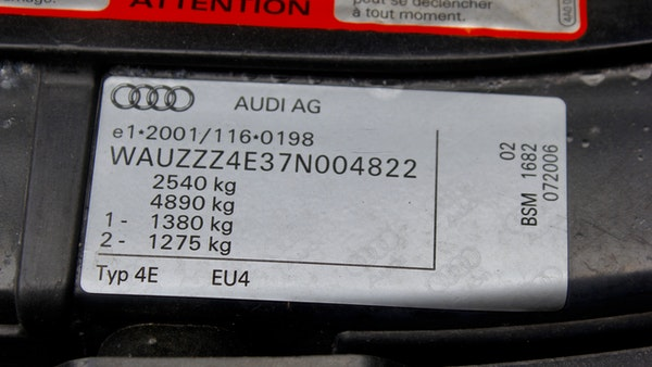 2006 Audi S8 For Sale (picture 127 of 224)