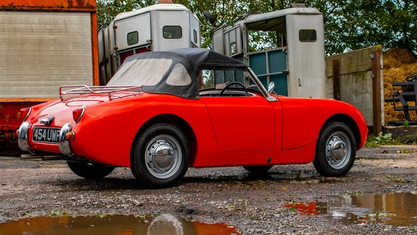 RESERVE LOWERED - 1959 Austin-Healey Frogeye Sprite For Sale (picture 29 of 112)