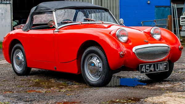 RESERVE LOWERED - 1959 Austin-Healey Frogeye Sprite For Sale (picture 36 of 112)