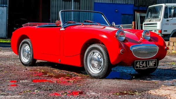 RESERVE LOWERED - 1959 Austin-Healey Frogeye Sprite For Sale (picture 8 of 112)