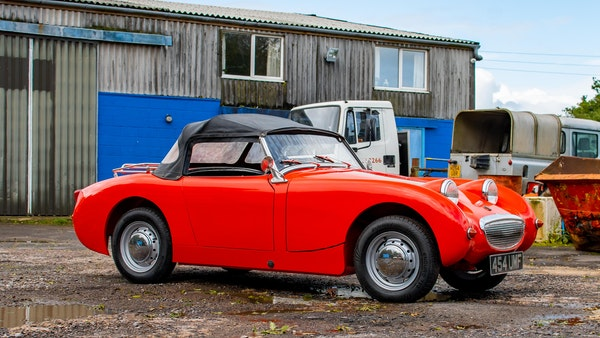 RESERVE LOWERED - 1959 Austin-Healey Frogeye Sprite For Sale (picture 33 of 112)