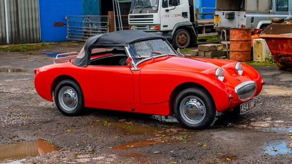 RESERVE LOWERED - 1959 Austin-Healey Frogeye Sprite For Sale (picture 34 of 112)