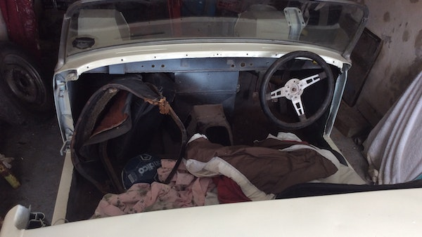 1959 Austin Healey 'Frogeye' Sprite PROJECT For Sale (picture 7 of 61)