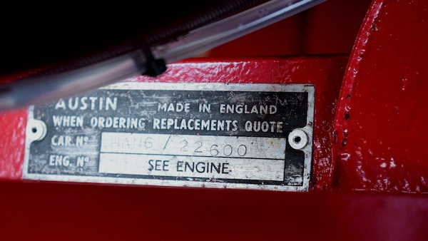 1963 Austin Healey Sprite Mk.II For Sale (picture 50 of 92)