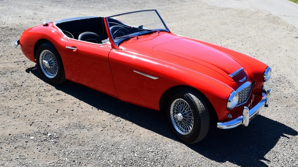 1960 Austin-Healey 3000 Mk1 BT7 For Sale (picture 25 of 104)