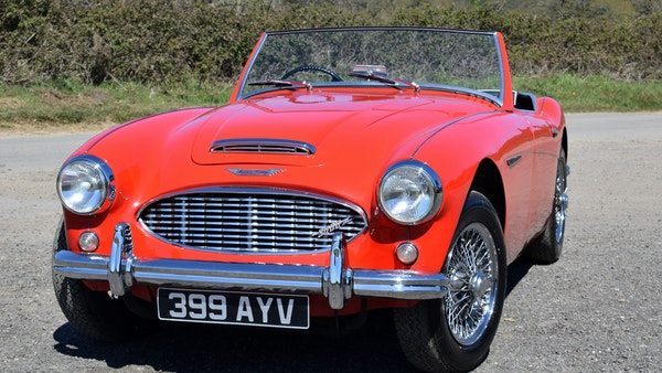 1960 Austin-Healey 3000 Mk1 BT7 For Sale (picture 4 of 104)