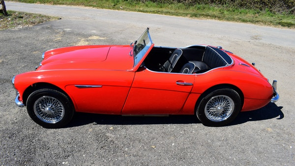 1960 Austin-Healey 3000 Mk1 BT7 For Sale (picture 12 of 104)