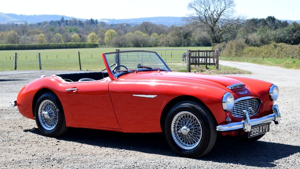 1960 Austin-Healey 3000 Mk1 BT7 For Sale (picture 15 of 104)