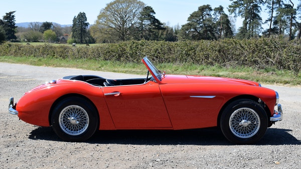 1960 Austin-Healey 3000 Mk1 BT7 For Sale (picture 16 of 104)