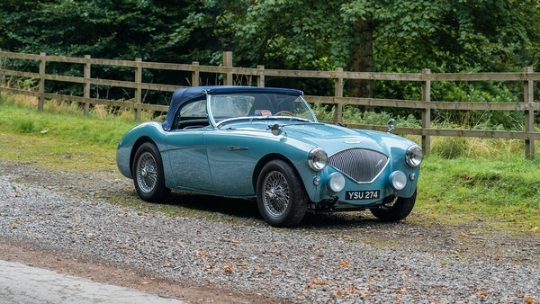 1954 Austin Healey 100 M Spec LHD For Sale (picture 36 of 116)