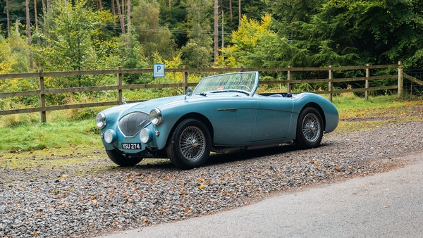 1954 Austin Healey 100 M Spec LHD For Sale (picture 23 of 116)