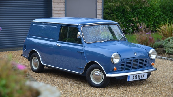RESERVE REMOVED - 1984 Mini 95L van For Sale (picture 10 of 127)