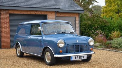 RESERVE REMOVED - 1984 Mini 95L van