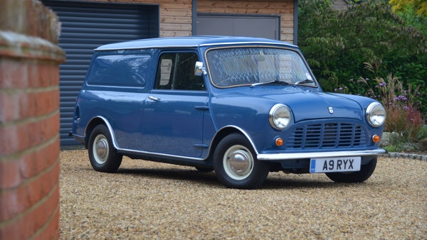 RESERVE REMOVED - 1984 Mini 95L van For Sale (picture 11 of 127)